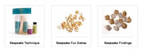 keepsake findings