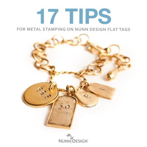 17 tips for metal stamping on nunn design flat tags nunn for Metal stamping press for jewelry