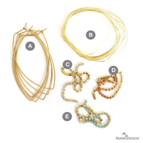 CrystalWrappedEarrings-Supplies