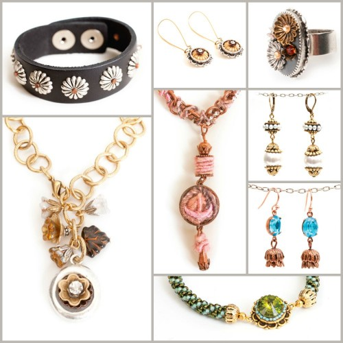 brass-beadcap-collage