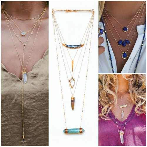 Jewelry Trends 5 Inspirational Ways to Layer Necklaces ...